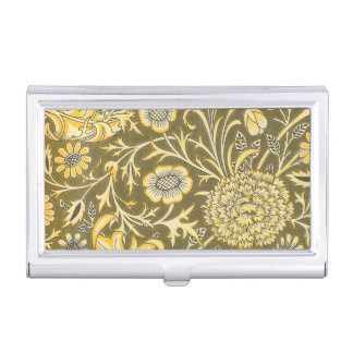 William Morris The Cherwell Design For Velveteen Business Card Holder
