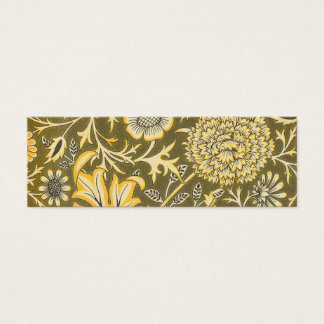 William Morris The Cherwell Design For Velveteen Mini Business Card
