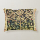William Morris Tree Of Life Floral Vintage Art Decorative Cushion