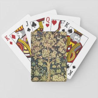 William Morris Tree Of Life Vintage Pre-Raphaelite Playing Cards