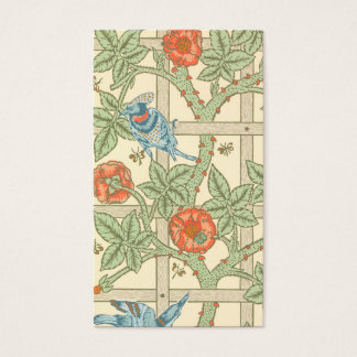 William Morris Trellis Pattern Business Card