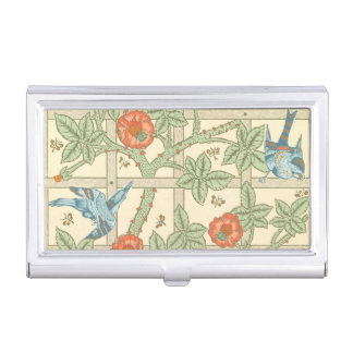 William Morris Trellis Pattern Business Card Holder