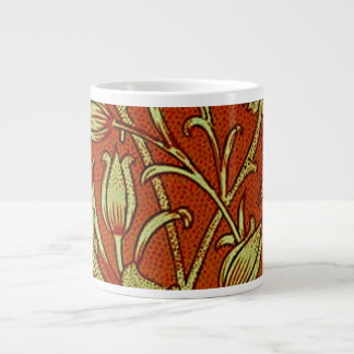 William Morris Tulip Floral Large Coffee Mug