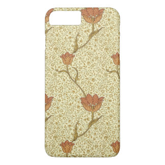 William Morris Tulip Garden Floral Vintage Art iPhone 7 Plus Case