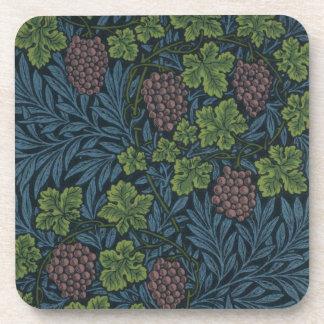 William Morris Vine Wallpaper Design Coaster