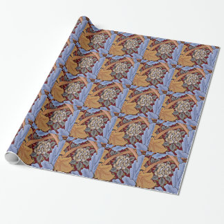 William Morris vintage design, Saint James Wrapping Paper