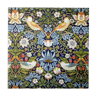 William Morris vintage design - Strawberry Thief Tile