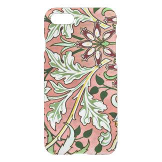 William Morris vintage pattern, Hyacinth iPhone 8/7 Case