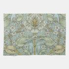 William Morris Vintage Spring thicket Floral Desig Tea Towel