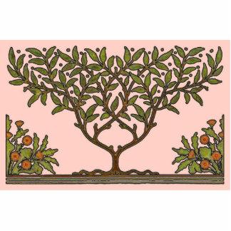 William Morris Vintage Tree Floral Design Photo Cutout