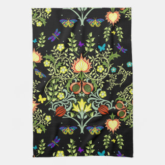 William Morris Vintage Wallpaper Tea Towel