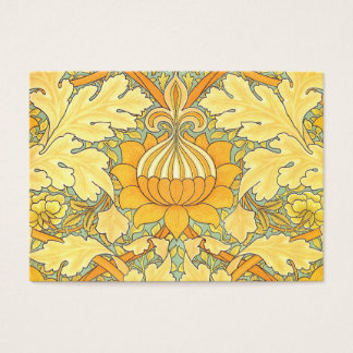 William Morris Wallpaper for St. James Place Business Card