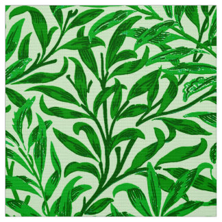 William Morris Willow Bough, Emerald Green Fabric