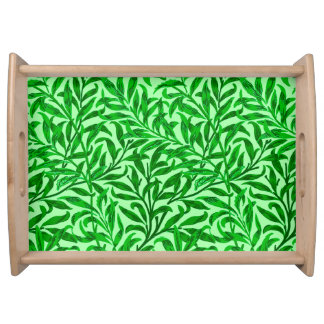 William Morris Willow Bough, Emerald Green Serving Tray