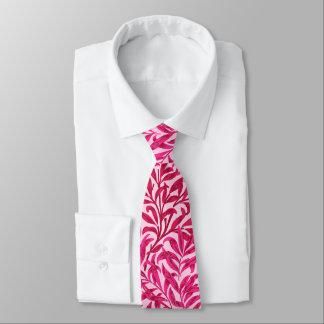 William Morris Willow Bough, Fuchsia Pink Tie