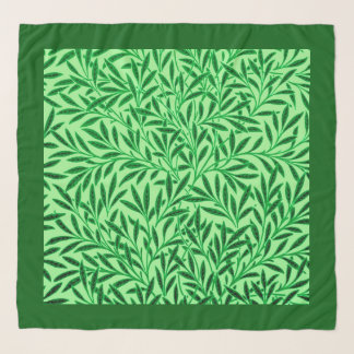 William Morris Willow Pattern, Light Jade Green Scarf