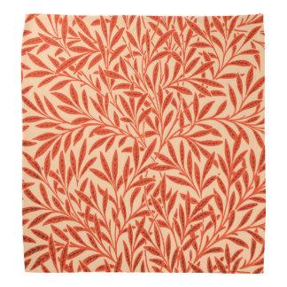 William Morris Willow Pattern, Mandarin Orange Bandana