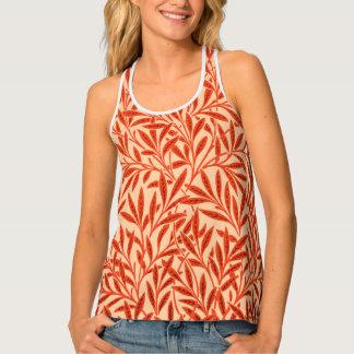 William Morris Willow Pattern, Mandarin Orange Singlet