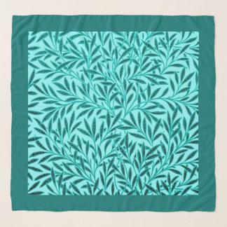William Morris Willow Pattern, Turquoise & Aqua Scarf