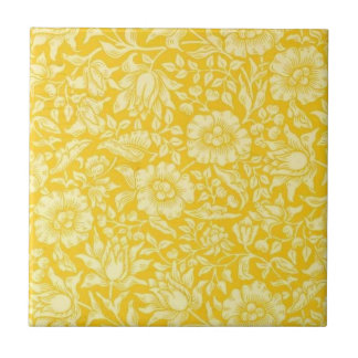 William Morris - Yellow Mallow Tile