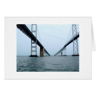 William Preston Lane Jr. Memorial Bridge Card