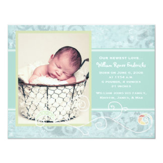 William Renee Birth Announcements