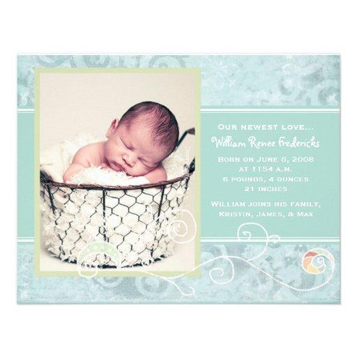 William Renee Birth Announcements