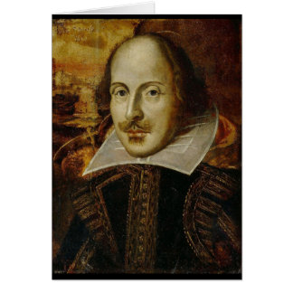 William Shakespeare Card