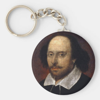 William Shakespeare Key Ring