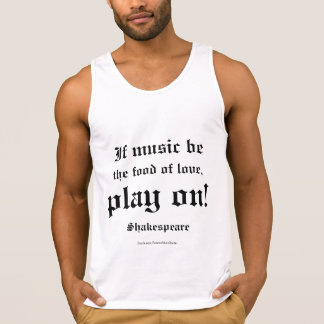 William Shakespeare Love Quote L3 Singlet