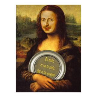 William Shakespeare Parody 17 Cm X 22 Cm Invitation Card