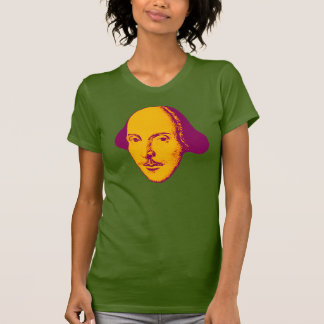 William Shakespeare Pop Art T-Shirt