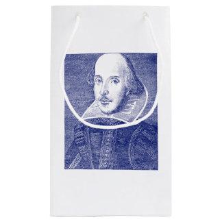 William Shakespeare Portrait First Folio Small Gift Bag