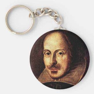 William Shakespeare Portrait Key Ring