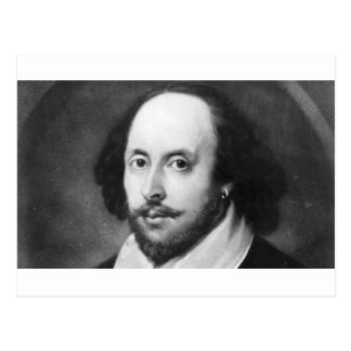 William Shakespeare Postcard