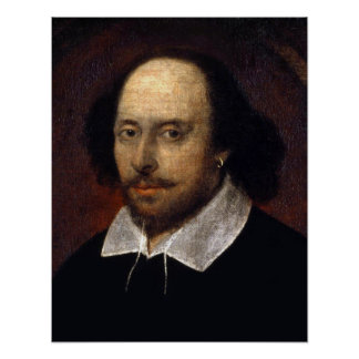 William Shakespeare Poster