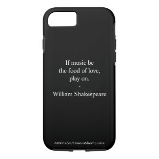William Shakespeare Quote - Love iPhone 8/7 Case