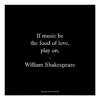 William Shakespeare Quote - Love Poster