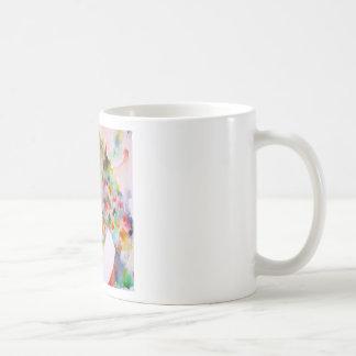 william shakespeare - watercolor portrait.1 coffee mug
