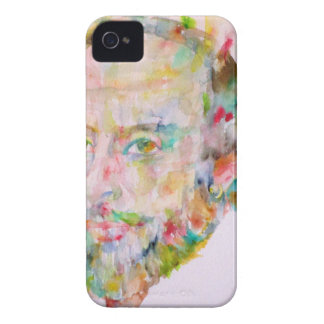 william shakespeare - watercolor portrait.1 iPhone 4 case