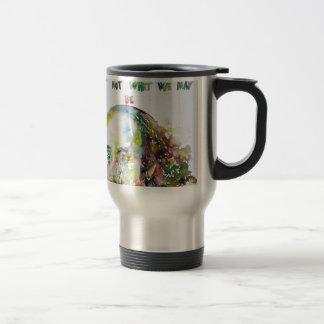 william shakespeare - watercolor portrait.2 travel mug