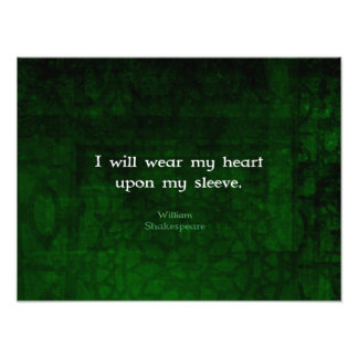 William Shakespeare Whimsical LOVE Quote Photograph