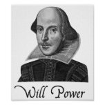William Shakespeare Will Power