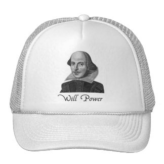 William Shakespeare Will Power Cap