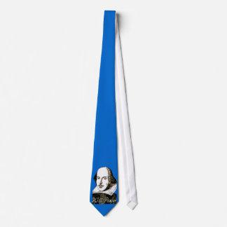 William Shakespeare Will Power T shirt Tie