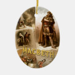 William Shakespeare's Macbeth Christmas Tree Ornaments