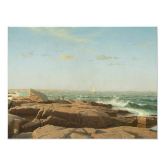 William Stanley Haseltine - Narragansett Bay Photo Print