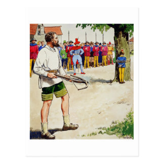 William Tell, from 'Peeps into the Past', publishe Postcard