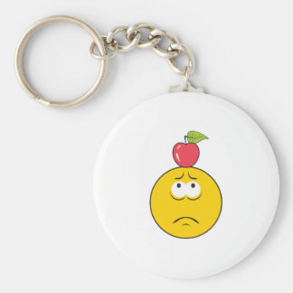William Tell Smiley Face Key Chain