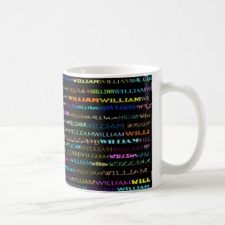 William Text Design I Mug II